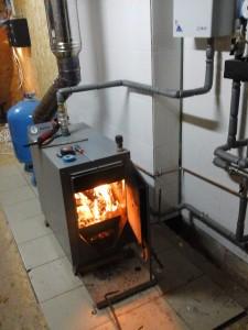 дровяное отопление загородного дома