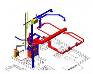 принцип работы воздушной системы отопления