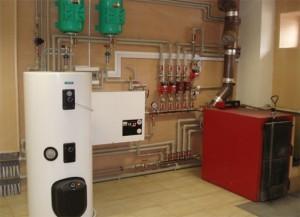 водяной электрический котел для отопления