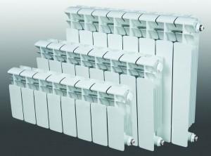 размерный ряд биметаллического радиатора