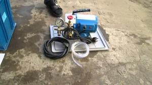 электрический опрессовочный насос ена