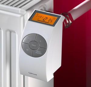 батарея отопления с электронным терморегулятором