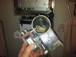 демонтаж старого газового котла