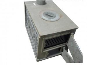 стальная печь для дачи