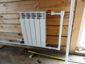 алюминиевый радиатор отопления в частном доме