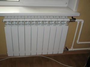 биметаллическая батарея в квартире