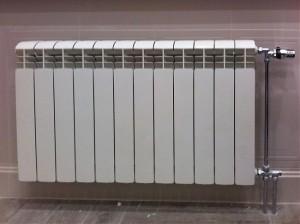 алюминиевый радиатор с боковым подключением