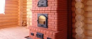 отопление загородного дома печью