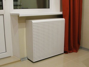 декоративный короб на радиаторе отопления