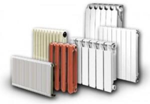 разные модели батарей отопления