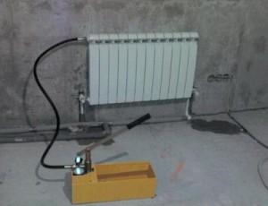 опрессовка отопления