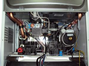 газовый котел аристон в разрезе