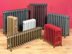 разнообразные радиаторы отопления
