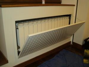 экран на радиаторе отопления