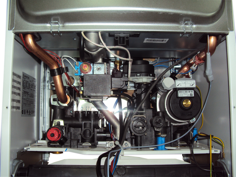 Ремонт газового котла аристон