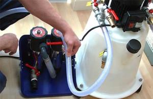 опрессовка отопления в частном доме
