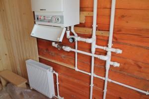 отопление деревянного дома электрокотлом
