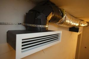 воздушное отопление в гараже