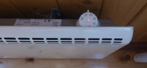 механический терморегулятор на конвекторе
