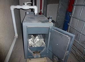 водяной котел для отопления