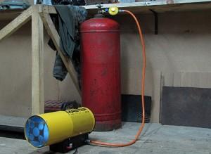отопление гаража газовым генератором