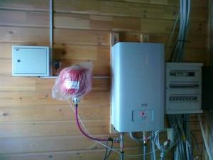 электрический котел в загородном доме