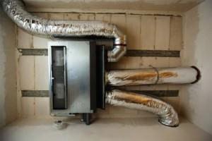 монтаж воздушного отопления в частном доме