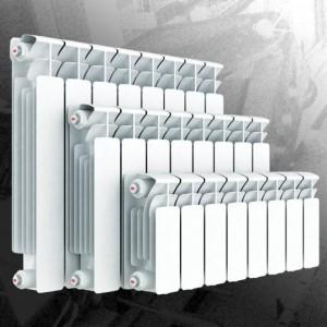 модельный ряд алюминиевых радиаторов