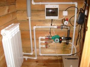 электродный электрический котел в доме