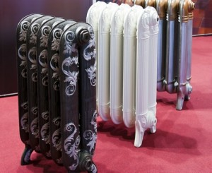 дизайнерские решения оформления чугунных радиаторов