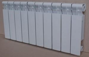 секционный радиатор из алюминия