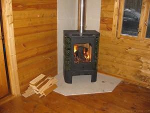 отопление дачи металлической печью