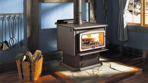 металлическая печь для отопления дома