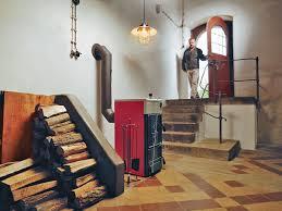отопление частного дома дровами