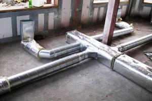установка воздушного отопления