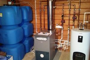 отопление частного дома дизельным топливом