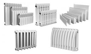 разнообразие радиаторов отопления