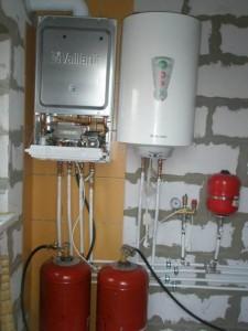 отопление частного дома баллонным газом