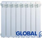 радиатор из алюминия глобал