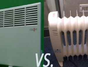 электрический и масляный радиатор