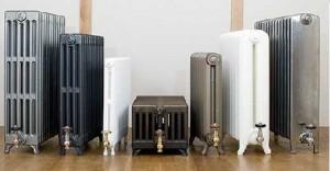 разные виды чугунных батарей