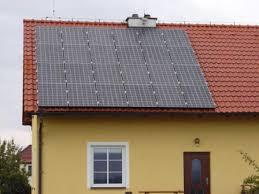 солнечная батарея на доме
