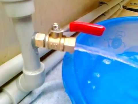 Как спустить воздух из труб водопроводных своими руками 481