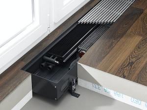 батарея отопления в полу