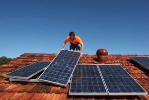 монтаж солнечного оборудования