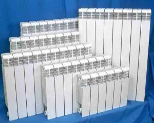 алюминиевые батареи разных размеров