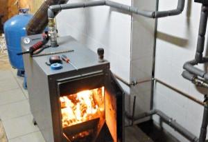отопление дровяным котлом