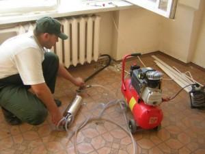 гидравлическая продувка радиатора отопления