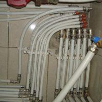 полипропиленовых трубы для системы отопления