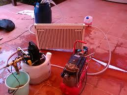 химическая очистка радиатора отопления